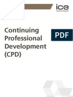 ICE 3006A Continuing Professional Development