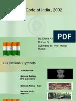 Flag Code of India, 2002