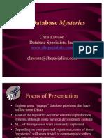 DBA Mysteries