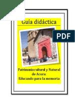 Guia Didactica Acora
