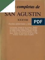 San Agustin de Hipona  -  Escritos Antiarrianos y Otros Herejes