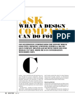 Ask what a Design Company can do for you