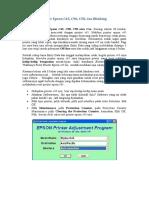 Cara Reset Printer Epson C45