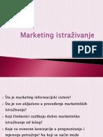 Marketing istraživanje