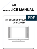 Funai LC5-D20BB Service Manual
