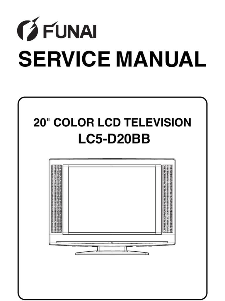 Funai Lc5 D20bb Service Manual Printed Circuit Board Connector 32 Pin Solder Eyelet In Mumbai
