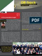 2011 Offtrack Newsletter Issue #1