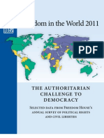 Freedom in the World 2011 Survey Release