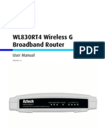 WL830RT4 User Manual v.1.0