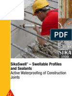 SikaSwell-Swellable Profiles and Sealants