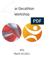 Solar Decathlon Workshop - Summary