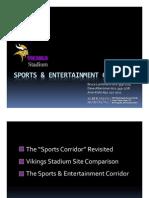 Vikings Stadium and sports corridor plan