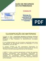 ADM MATERIAIS - Unidade 05