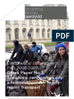 Cardiff Civic Society - Green Paper - A radical approach to city-region transport