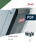 MG17C202 - soft starter Danfoss MCD202 Manual de diseño