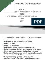 1.Konsep Psikologi & Psikologi Pendidikan