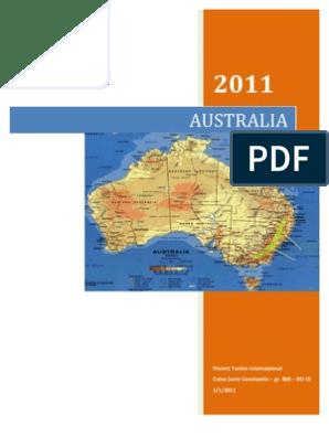 Cronologia istoriei Australiei