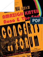 Amazigh / Nuno - Djazair - Concert du 07 mai