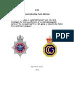 Public Services Police Coast Guard Unit 1 AO1