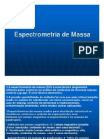 Espectroscopia de Massa PG 2007 2