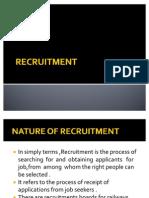 2.Recruitment Somya,Saurabh