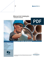 Manual de Instalação de Tubulação Enterrada