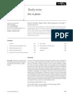 Zinc in Plants