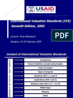 International Valuation Standards 7