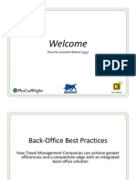 Agresso Webinar - Back-Office Best Practices 111209
