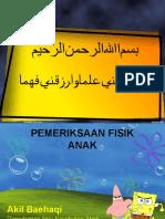 PEMERIKSAAN FISIK ANAK 2011