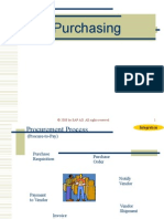 Purchasing Overview SAP
