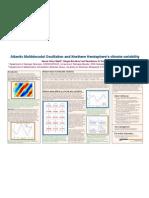 Atlantic Multidecadal Oscillation and Northern Hemisphere's climate variability