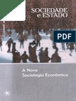 Avancos y Desafios Da Nova Sociologia Economica