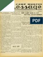 Camp Murphy Message, October 22, 1943
