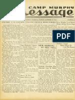 Camp Murphy Message, October 8, 1943