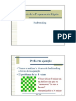Backtracking ArteProgramacionRapida