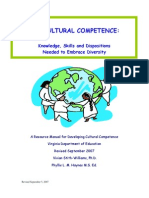 Cultural Competence Manual