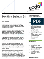 ecdp Monthly Bulletin 24