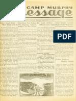 Camp Murphy Message, December 3, 1943