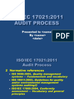 Iso Iec 17021 2011 Audit Process