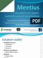 Meetius Projekti Seminaariesitys 110504 Oulunyliopisto Let Koutek