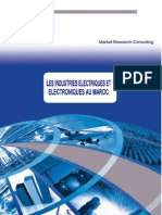 Les industries électriques et électroniques au maroc
