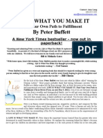 Life Is What You Make It Find Your Own Path To Fulfillment By Peter Buffett