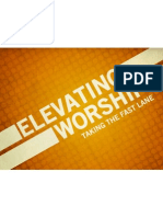Elevating Worship - Sermon Title