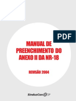 Manual Preenchimento Do Anexo 2 NR 18