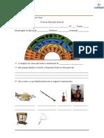 Ficha de Educação Musical