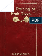 The Pruning of Fruit Trees