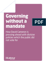 Governing Without a Mandate