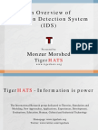 An Overview of Intrusion Detection System by TigerHATS