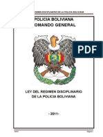 Ley Del Regimen Disciplinario[1]